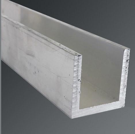 "Aluminum Channel 6063 3/"" x 1/"" Sharp Corner x 84/"""